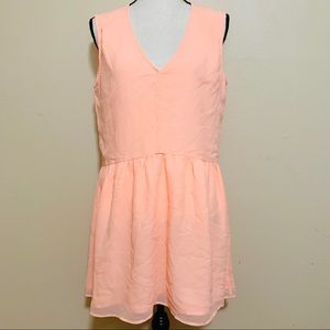 Victoria Secret Neon Pink Chiffon Dress